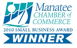 Manatee Chamber Of Commerce - Small Business of the Year 2010